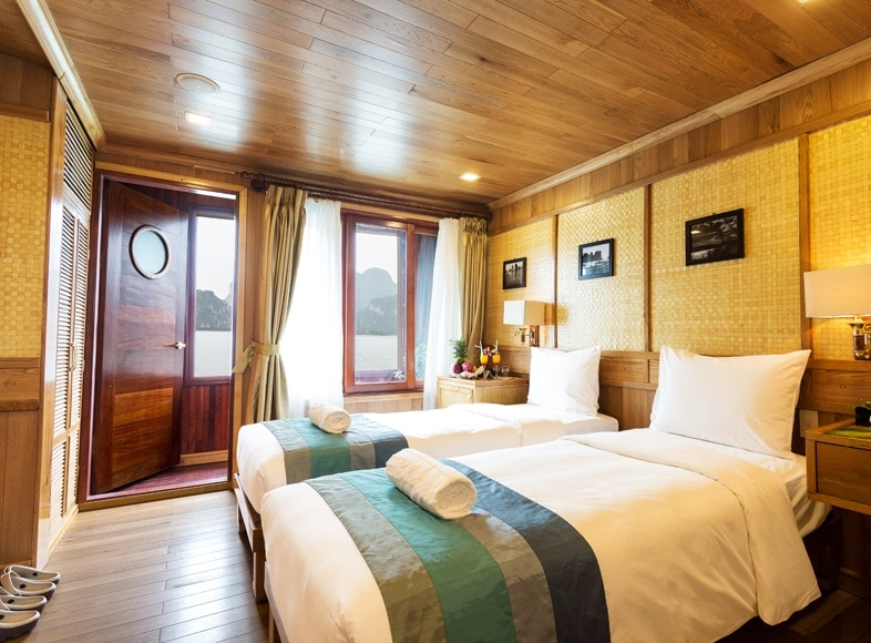 ROOM AT HALONG BHAYA CRUISE