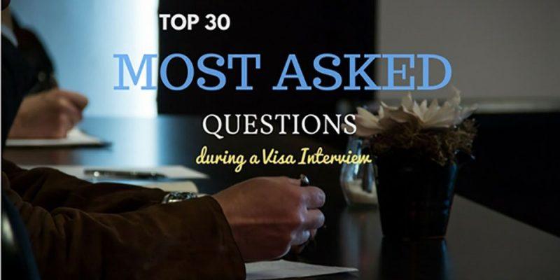 30 คำถามยอดฮิตที่คุณต้องเจอแน่ๆในการสัมภาษณ์วีซ่าเชงเก้น