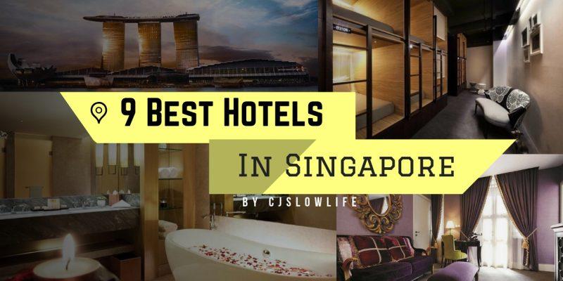 9 ที่พักยอดฮิตที่ดีที่สุด รีวิวปังใจกลางเมืองสิงคโปร์